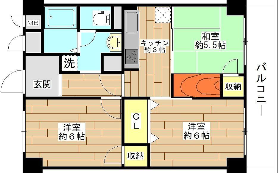 南堀江第二スカイハイツのご紹介!