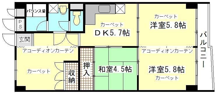 募集予定物件の紹介(西道頓堀コーポ)