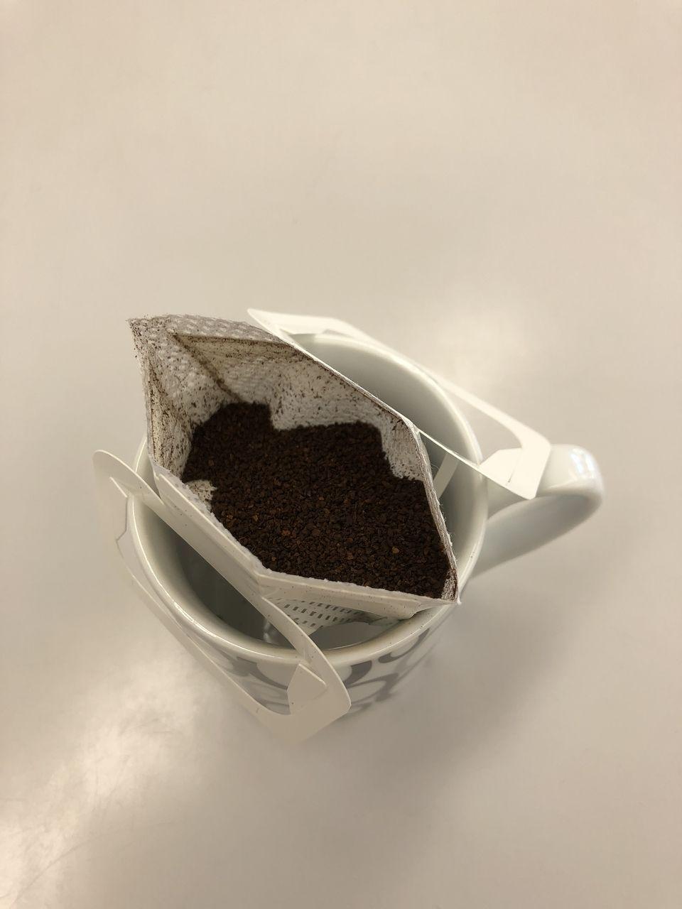 頂いたコーヒーを早速作ってみました!