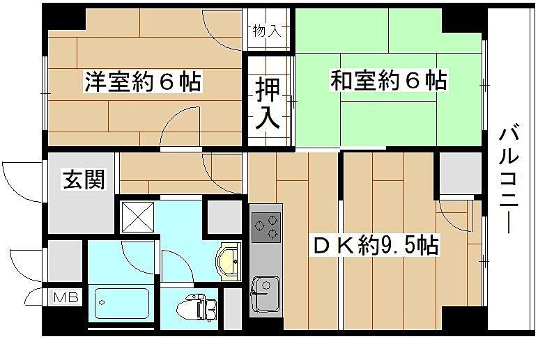 南堀江第二スカイハイツの空き予定物件ご紹介